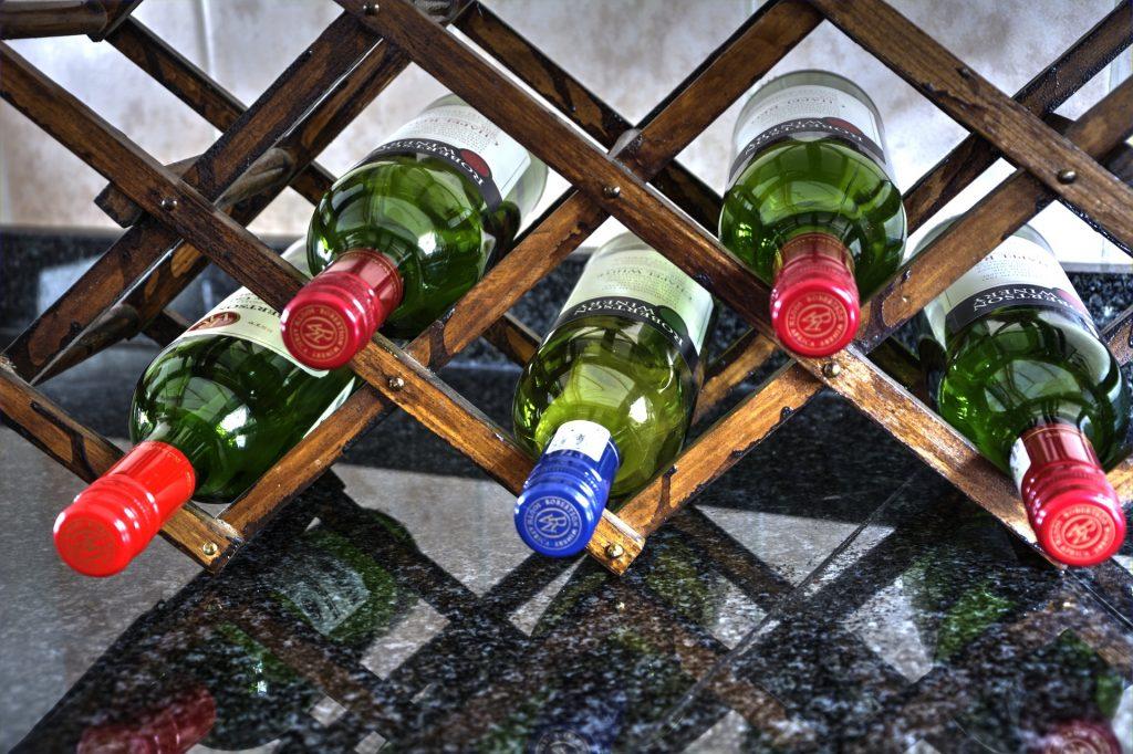 casier à bouteilles